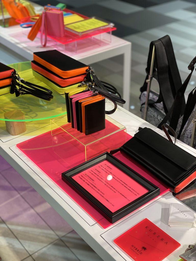 kubera9981 日本製 財布 ショルダーバッグ ウエストバッグ ネオンカラー