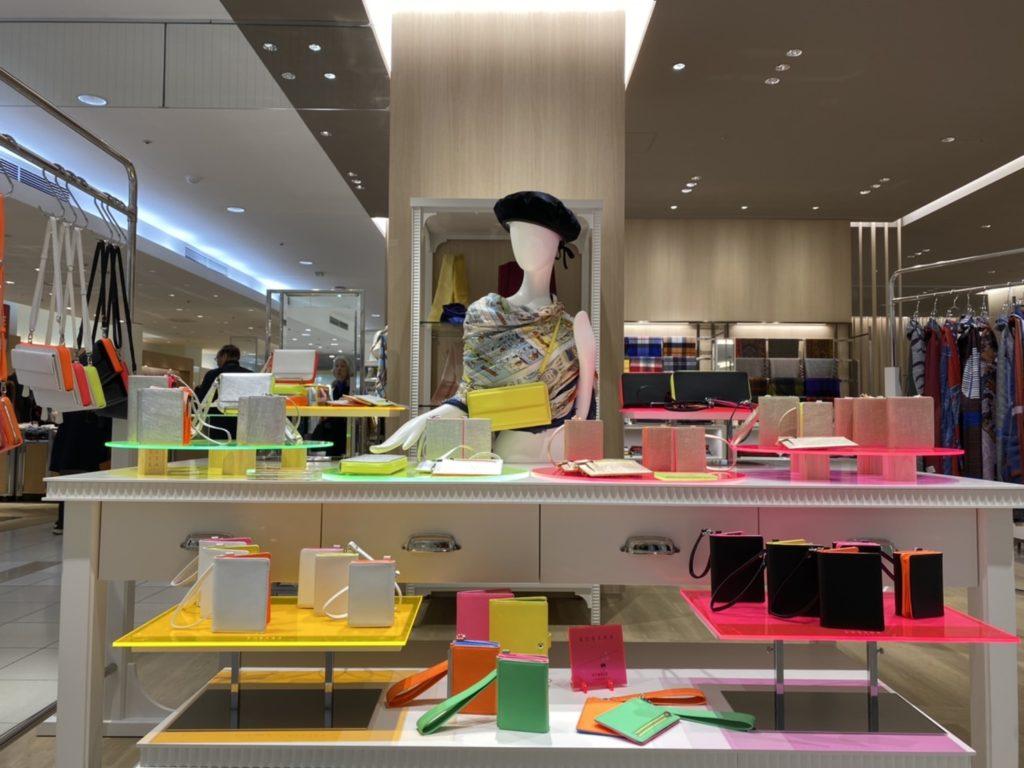 kubera9981 クベラ9981 日本製 財布 バッグ madeinjapan ネオンカラー neon color スコッチガード シルバー アルミ  岩田屋本店 2F