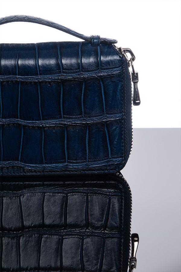 KUBERA 9981 藍染め財布